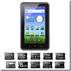Woxter PC75 Android Tablet